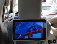 10.5 HEADREST SYSTEM (with DVD player)